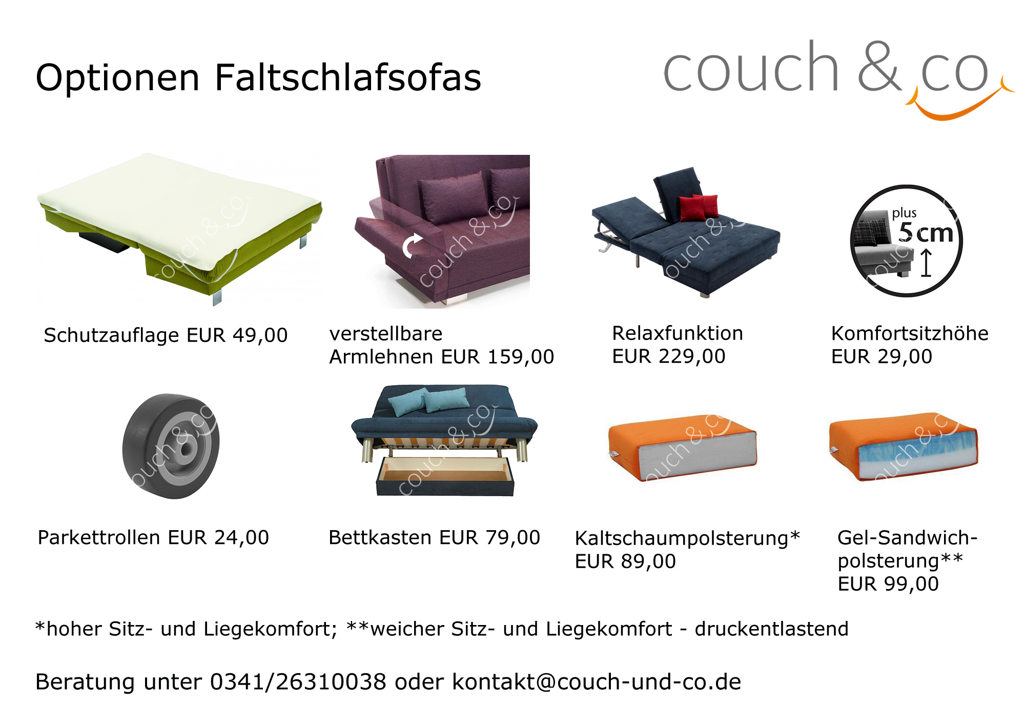 schlafsofa faltsofa funktionssofa g stesofa schlafcouch emma 155 b ell ell neu ebay. Black Bedroom Furniture Sets. Home Design Ideas