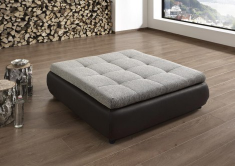 quadratischer hocker hockerbank f r sofa couch. Black Bedroom Furniture Sets. Home Design Ideas