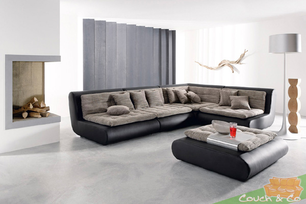 loungesofa wohnlandschaft sofa couch ecksofa eckcouch plansofa exit ib ebay. Black Bedroom Furniture Sets. Home Design Ideas