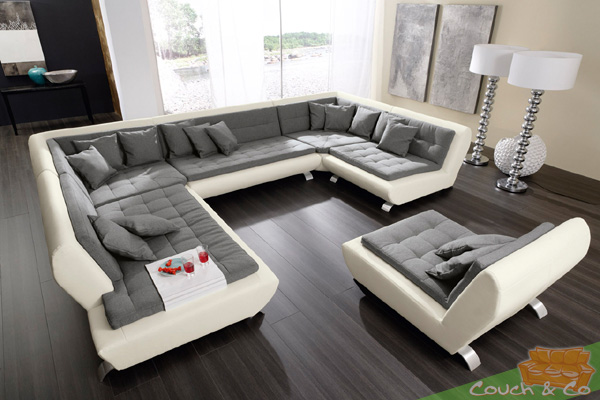 loungesofa wohnlandschaft sofa couch ecksofa eckcouch plansofa exit iid ebay. Black Bedroom Furniture Sets. Home Design Ideas