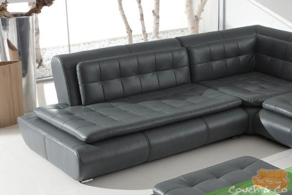 echt leder couch sofa couchgarnitur sofagarnitur exit ebay. Black Bedroom Furniture Sets. Home Design Ideas