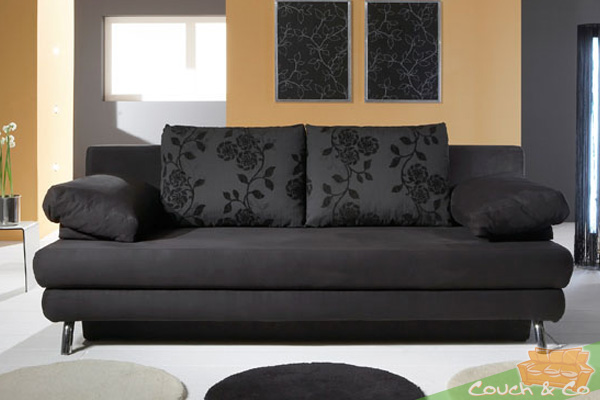 sofa couch schlafsofa schlafcouch bettsofa caro top neuware ebay. Black Bedroom Furniture Sets. Home Design Ideas