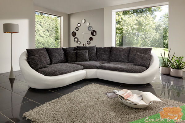 design gro es ecksofa fidschi zum kuscheln und tr umen neu ebay. Black Bedroom Furniture Sets. Home Design Ideas
