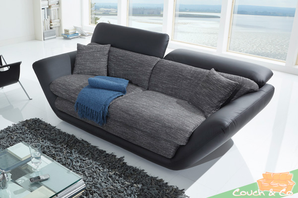 sofa couch loungesofa wohnlandschaft 2 5 sitzer funktionssofa puerto neu ebay. Black Bedroom Furniture Sets. Home Design Ideas