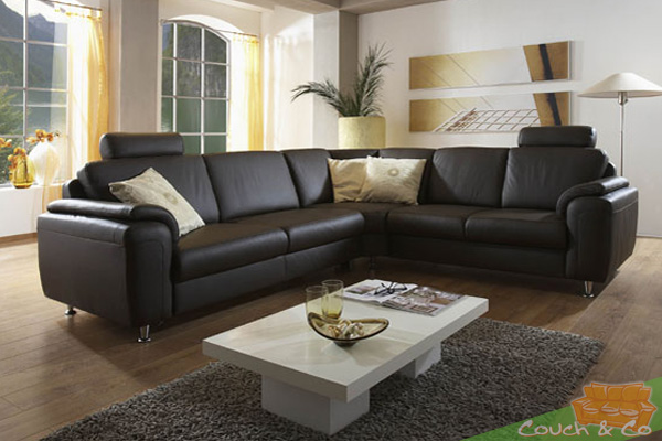 echtleder couch sofa couchgarnitur sofagarnitur sardinien neu ebay. Black Bedroom Furniture Sets. Home Design Ideas