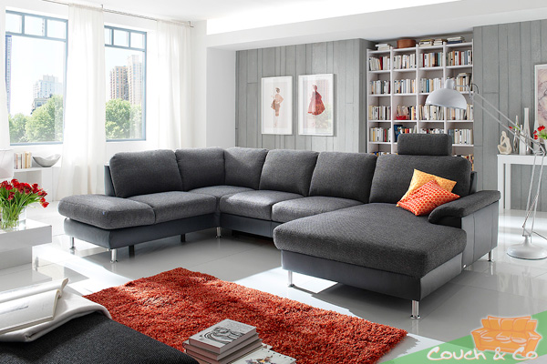 sofa couch ecksofa eckcouch sofagarnitur couchgarnitur plansofa bonita 1 neu ebay. Black Bedroom Furniture Sets. Home Design Ideas