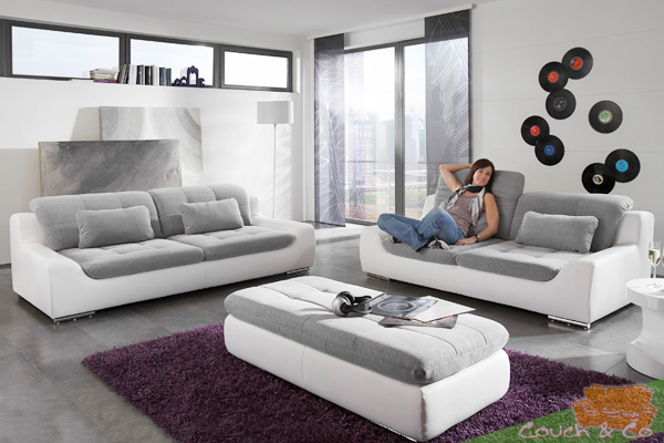loungesofa wohnlandschaft sofa couch plansofa 3 sitzer 2 5 sitzer spike 6 neu ebay. Black Bedroom Furniture Sets. Home Design Ideas
