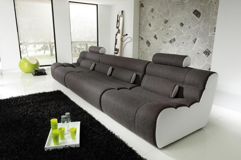 Loungesofa elements b for A new look salon
