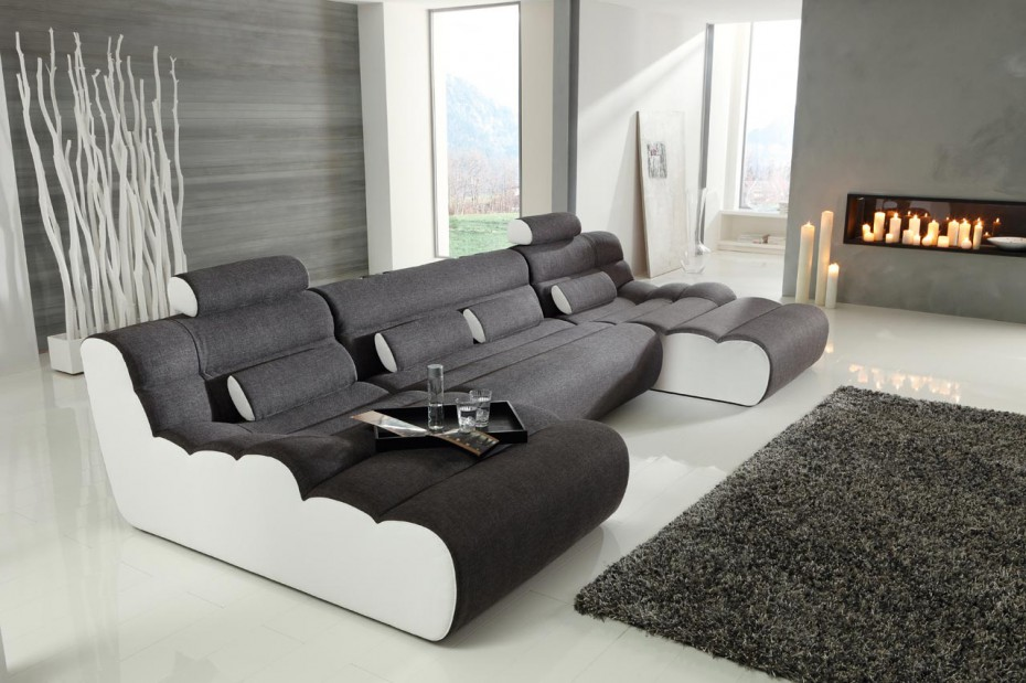 loungesofa elements l. Black Bedroom Furniture Sets. Home Design Ideas